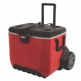 COLEMAN 55 QUART RUGGED 55 A/T WHEELED COOLER
