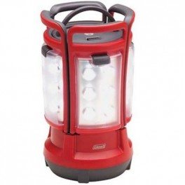 COLEMAN 190 LUMEN RECHARGABLE QUAD LED LANTERN 4 REMOVABLE PANELS